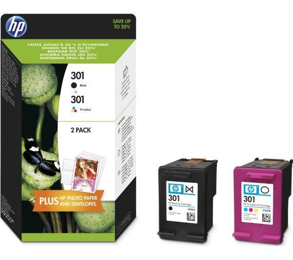 """""""HP 301 Tri-colour & Black"""""""